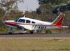 Piper PA-28-235 Cherokee Pathfinder, PT-KMV. (16/07/2011) Foto: Ricardo Frutuoso.
