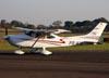 Cessna 182TC Skylane, PR-KIK. (16/07/2011) Foto: Ricardo Frutuoso.