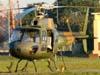 """Eurocopter/Helibrás HB-350 """"Esquilo"""" (H-50), FAB 9768, da AFA (Academia da Força Aérea)."""