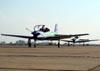 Embraer EMB-312 (T-27 Tucano), FAB 1435, da Esquadrilha da Fumaça.