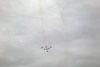 Os Embraer EMB-312 (T-27 Tucano) da Esquadrilha da Fumaça saindo de um looping. (07/06/2012) Foto: Sérgio Cardoso.