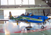 Embraer EMB-314 Super Tucano (A-29B), FAB 5966, da Esquadrilha da Fumaça. (18/12/2012)
