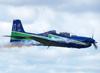 Tenente Coronel Aviador Wagner de Almeida Esteves durante o voo de despedida do EDA. (18/12/2012)
