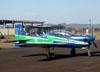 Embraer EMB-312 (T-27 Tucano), FAB 1371, da Esquadrilha da Fumaça. (18/09/2011)