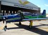 Embraer EMB-312 (T-27 Tucano), FAB 1434, da Esquadrilha da Fumaça. (18/09/2011)