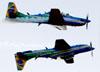 Embraer EMB-314 Super Tucano (A-29) da Esquadrilha da Fumaça. (23/08/2018)