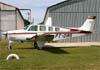 Beechcraft A36 Bonanza, PT-OAR. Foto: Wesley Minuano