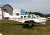 Beechcraft A36 Bonanza, PR-JVB. Foto: Wesley Minuano