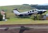 Beechcraft G58 Baron, PR-FGP. Foto: Wesley Minuano