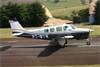 Beechcraft B36TC Bonanza, PT-WYW. Foto: Wesley Minuano