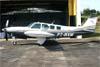 Beechcraft A36 Bonanza Turbo, PT-WVM. Foto: Wesley Minuano