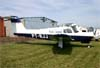 Piper/Neiva EMB-711ST Corisco II Turbo, PT-RJJ. Foto: Wesley Minuano