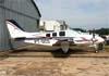 Beechcraft B58TC Baron, PT-OCD. Foto: Wesley Minuano