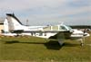 Beechcraft B55 Baron, PT-JFJ. Foto: Wesley Minuano