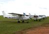Cessna 152, PR-CPS, do Aeroclube de Campinas. (22/06/2013). (22/06/2013)
