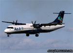 ATR 72-600 (ATR 72-212A), PR-AQP, da Azul, pousando no aeroporto de Ribeir�o Preto. (28/06/2015)