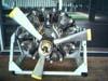 Motor radial exposto na Academia da Força Aérea, em Pirassununga. (2006)