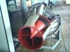 Turbina exposta na Academia da Força Aérea em Pirassununga. (2006)