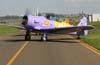 North American T-6D, PT-LDQ, aeronave número 2 da Esquadrilha OI. Aeroporto dos Amarais, Campinas. (21/10/2006)
