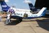 Piper/Embraer EMB-810C Seneca II, PT-EIR, aeronave utilizada pelo fotógrafo Marcio Jumpei (na porta) para fotografar os aviões da Esquadrilha OI em vôo. Aeroporto dos Amarais, Campinas. (21/10/2006)