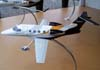 Maquete do Embraer Phenom 100. (11/08/2007)