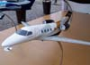 Maquete do Embraer Phenom 300. (11/08/2007)