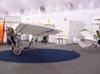 Uma das 5 réplicas do Demoiselle, 2° avião de Santos Dumont, construídas pelo Instituto Arruda Botelho. (11/08/2007)