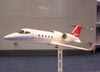 Maquete do Bombardier Learjet 60 XR. (11/08/2007)