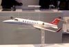 Maquete do Bombardier Learjet 45 XR. (11/08/2007)