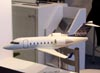 Maquete do Bombardier Challenger 605. (11/08/2007)