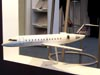 Maquete do Bombardier Challenger 850. (11/08/2007)