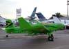 Executivo? Neiva EMB-202 Ipanemão, PP-XHQ, usado para pulverizar lavouras. O que esta aeronave estava fazendo no pátio de exposições da LABACE? (15/08/2008)