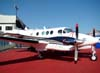 Beechcraft King Air C90A, PT-ODH.
