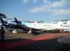 Embraer EMB-135BJ Legacy 650, PT-TAV, da Embraer. (11/08/2011)