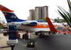 Embraer EMB 505 Phenom 300, PP-UTI, da Amil. (16/08/2012)