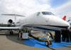 Gulfstream G550, N550GD, da Gulfstream. (16/08/2012)