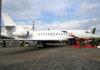Dassault Falcon 7X, M-ABFM, da Dassault Aviation. (16/08/2012)
