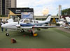 Hawker Beechcraft Baron G58, PP-AAZ. (16/08/2012)