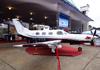 Piper PA-46-350P Malibu Mirage, PR-VDA, da Cleiton Táxi Aéreo. (15/08/2013)