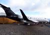 Embraer EMB-550 Legacy 500, PT-ZEX, da Embraer. (15/08/2013)