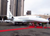 Dassault Falcon 2000EX, N702FJ, da Dassault. (15/08/2013)