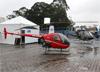 Robinson R22 Beta II, PR-RGB, do Aeroclube Pará de Minas. (15/08/2017)