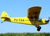 Piper J3 Cub Light, PU-CAA, durante o encontro de aeronaves experimentais em Leme/SP. (01/05/2009)