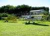 Réplica do Piper J3, PU-EBJ, e Piper PA-22-108, PT-BRZ. (01/05/2010) Foto: Ricardo Rizzo Correia.