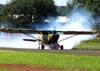 Aeronca 15AC Sedan, PT-AMV, do Instituto Arruda Botelho. (30/04/2011) Foto: Ricardo Rizzo Correia.