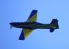 Embraer EMB-312 (T-27 Tucano) da Esquadrilha da Fumaça. Foto: Eduardo Martins. (22/05/2011)