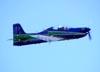 Embraer EMB-312 (T-27 Tucano), FAB 1381, da Esquadrilha da Fumaça. Foto: Eduardo Martins. (22/05/2011)