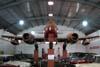 Gloster Meteor F-8, FAB 4442. A Força Aérea Brasileira operou 60 aviões Gloster Meteor dos modelos F-8 (monoplace) e T-7 (biplace para treinamento) entre 1953 e 1974. O governo brasileiro trocou 15 mil toneladas de algodão com a Inglaterra para receber os aviões que foram montados na Fábrica do Galeão (Rio de Janeiro). (25/07/2008) Foto: Ricardo Rizzo Correia.