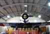 North American AT-6D Texan, FAB 1339. Foi usado pela Força Aérea Brasileira em Natal, no Rio Grande do Norte, e em Fortaleza, no Ceará, até ir para a Esquadrilha da Fumaça, onde voou até o dia 24 de dezembro de 1966. (25/07/2008) Foto: Ricardo Rizzo Correia.