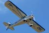 Taylorcraft BC-12, PP-ZBC, durante a decolagem.
